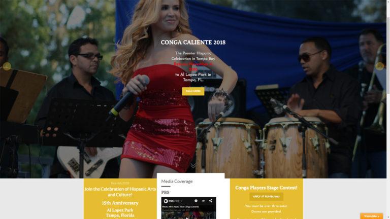 CongaCaliente.com