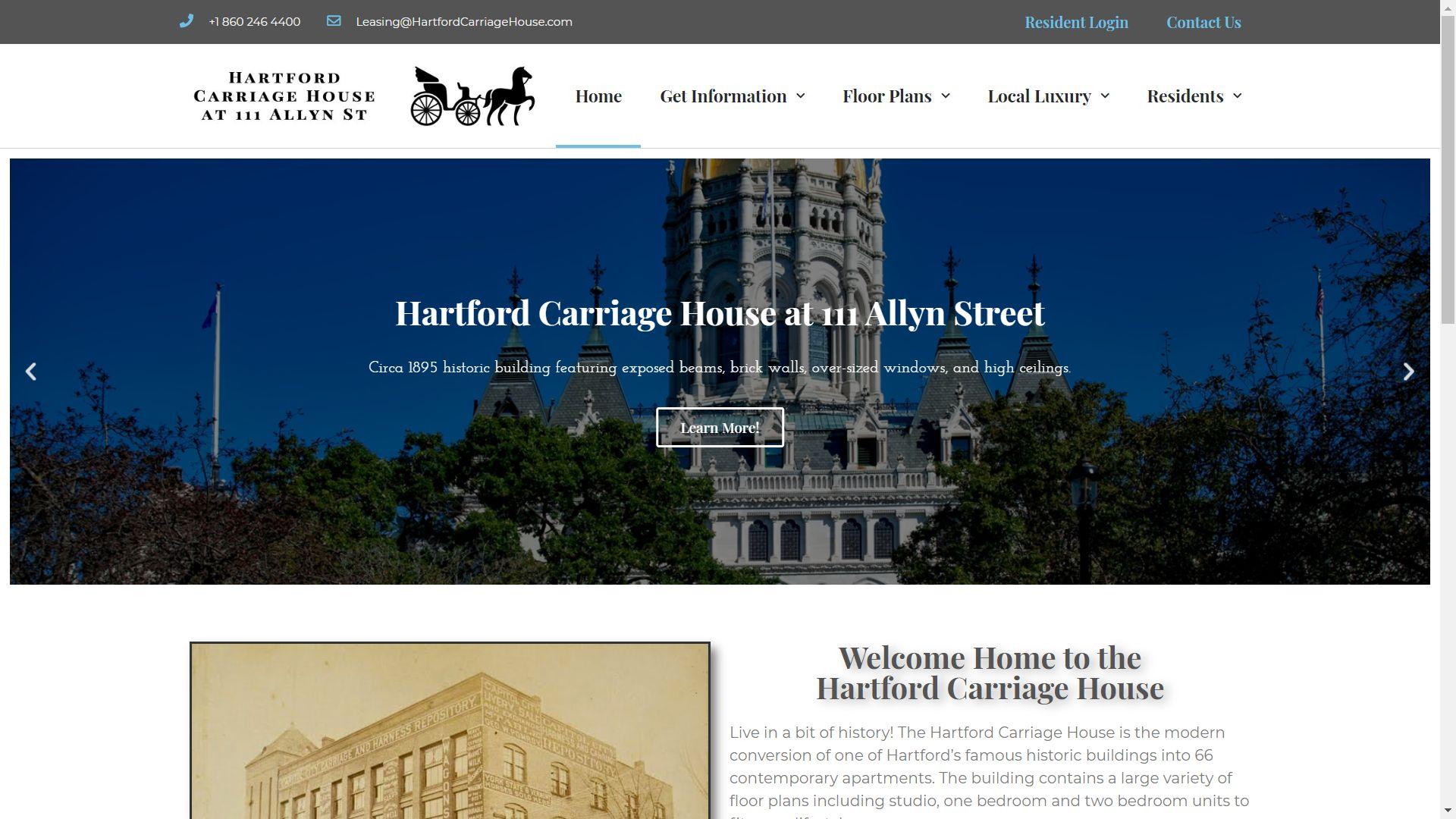 HartfordCarriageHouse.com