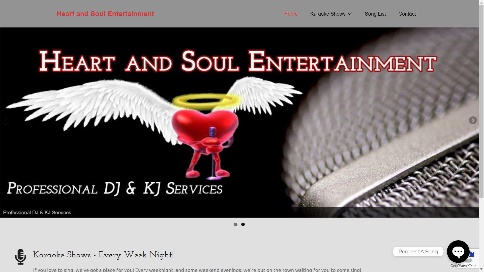 HeartAndSoulEntertainment.com